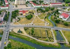 Экскурсия, исторический центр Слуцка