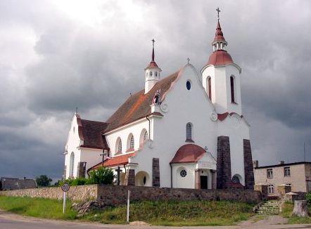 Солы, костел Богоматери Руженцовой