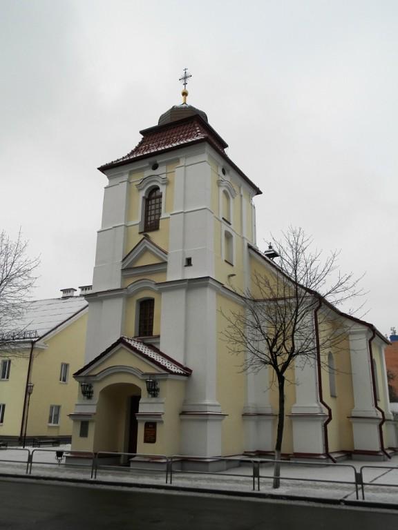 Пинск, костел св. Карла Баромея 1770—84 гг.